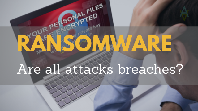 ransomware-breach or incident only